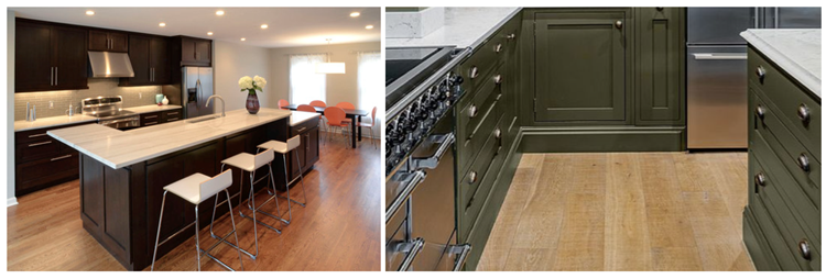 Best Wood Floor Color for Cabinets is