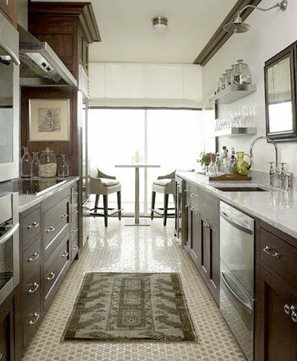 Galley Style Kitchen Design