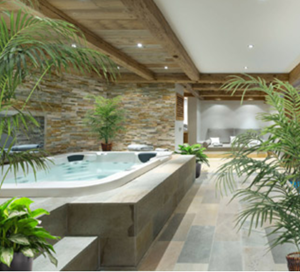 spa like master bathroom designer